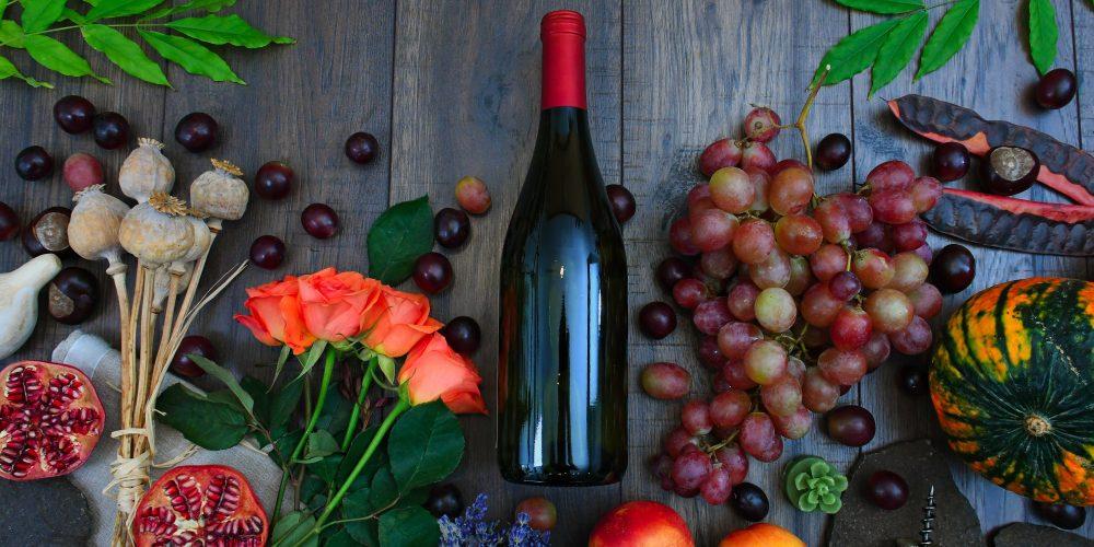 Domácí výroba vína z hroznů