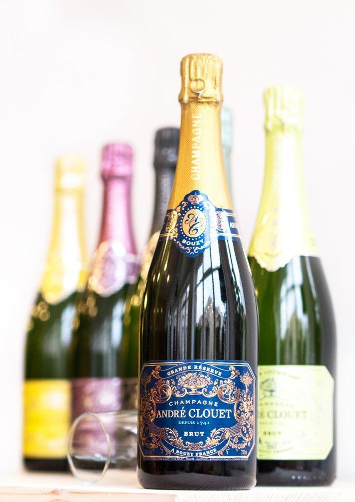 Andre Clouet Champagne Set Brut 6×0,75l 12% GB