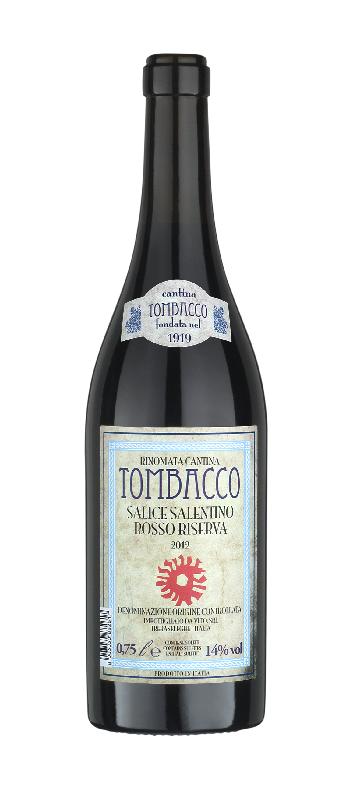 Tombacco Salice Salentino Rosso Riserva 2012 0,75l 14%