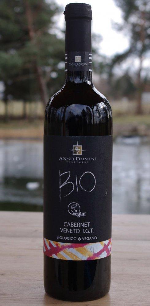 Anno Domini Bio Vegan Cabernet Veneto IGT 0,75l 12%