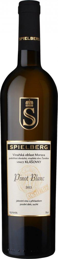 Spielberg Pinot Blanc Austerlitz Pozdní sběr 2015 0,75l 13,5%