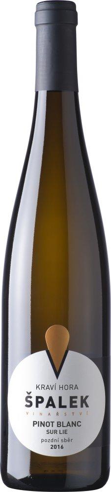 Špalek Pinot blanc sur lie BIO Pozdní sběr 2016 0,75l 12,5%