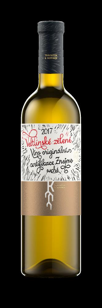 Trávníček & Kořínek Sauvignon VOC Znojmo 2017 0,75l 13%