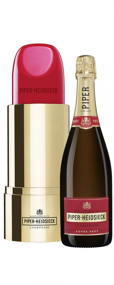 Piper Heidsieck Cuvée Lipstick Edition Brut 0,75l 12%