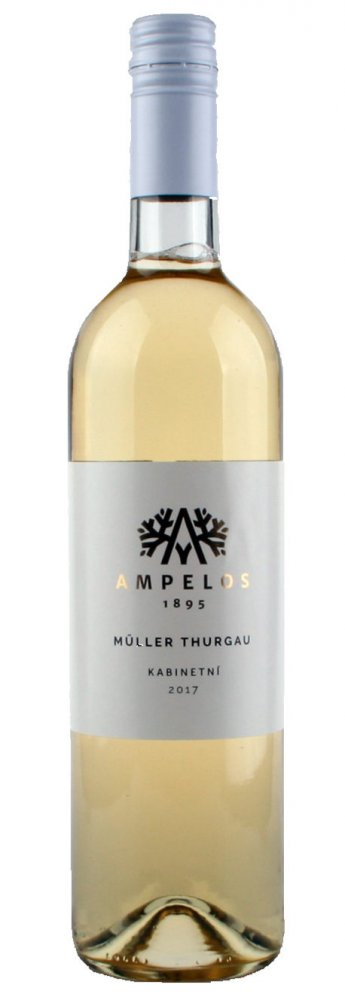 Ampelos Müller Thurgau 2017 0,75l 12%