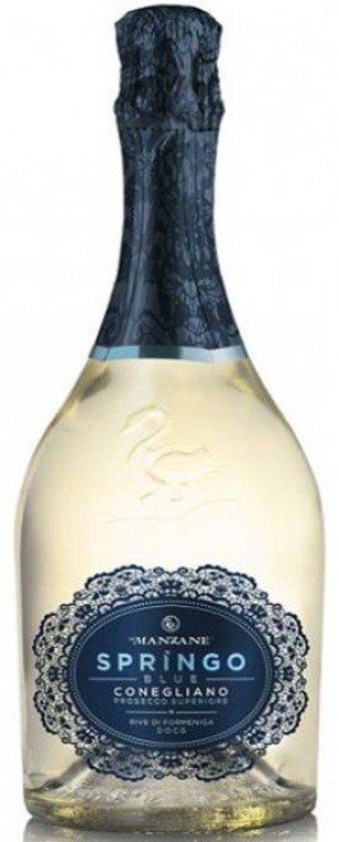 Le Manzane Springo Blue Coneliano Prosecco Superiore Rive Di Formeniga DOCG Brut 0,75l 11,5%