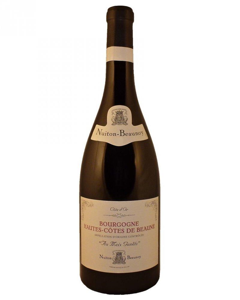 Nuiton-Beaunoy Hautes Cotes de Beaune Aux Meix Genets 2016 0,75l 13%