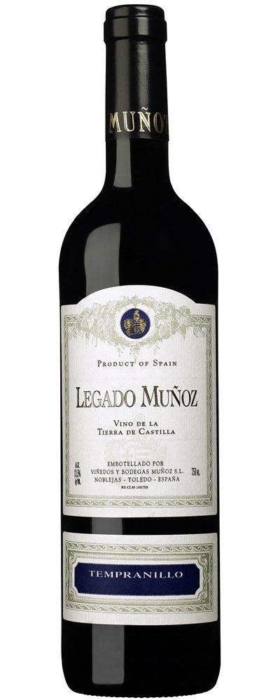 Legado Muñoz Tempranillo 2018 0,75l 14%