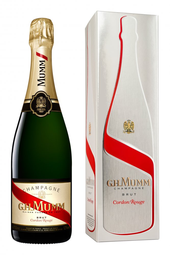 Mumm Cordon Rouge Brut 0,75l 12% GB