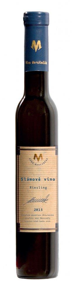 Marcinčák Slámové víno Riesling Bio 2015 0,2l 8,5%