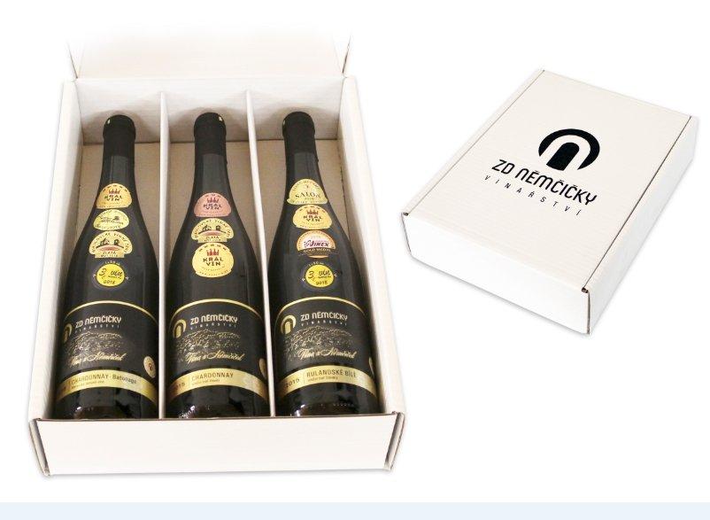 ZD Němčičky Kolekce TOP 5 Batonnage Moravské zemské víno 3×0,75l GB