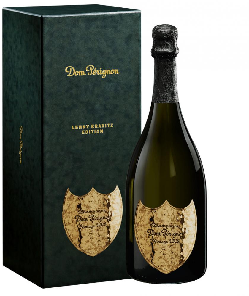 Dom Perignon Blanc Vintage Brut Lenny Kravitz 2008 0,75l 12,5%