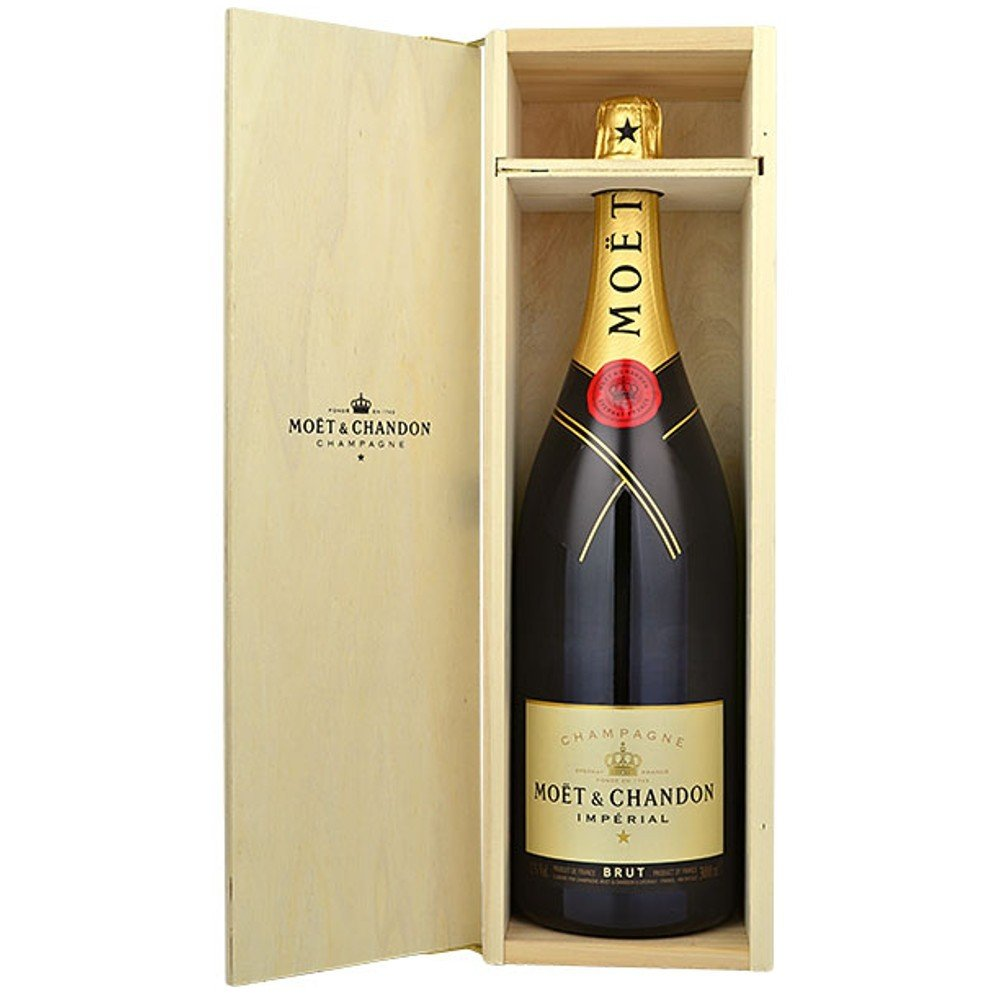 Moët & Chandon Imperial Brut 12l 12,5% Dřevěný box