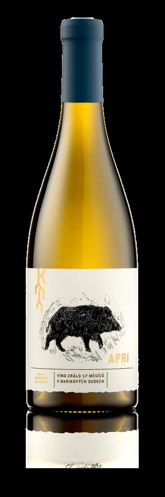 Trávníček & Kořínek Chardonnay APRI Moravské zemské víno 2017 0,75l 13%
